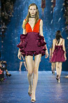 Mary Katrantzou Ready To Wear Spring Summer 2016 Runway Summer 2016 Trends, Spring Summer 2016, Runway Fashion Looks, Ruffle Bloomers, Future Trends, Mary Katrantzou, Beautiful Dresses, Ready To Wear, Couture