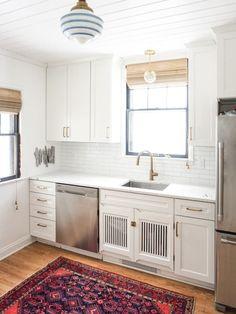 "Erin's ""Handmade Modern"" Tudor Duplex — House Call   Apartment Therapy"