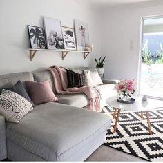 Más De 20 Imágenes De Salones Nórdicos Que Te Inspirarán. Grey Couches Living  RoomNordic ...