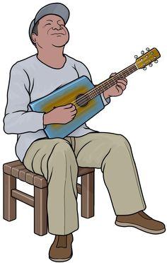 カボシの演奏。マダガスカルの弦楽器。 Kabosy is a Malagasy musical instrument
