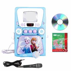 Disney Frozen Disney S Frozen Karaoke Machine Frozen