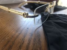 Cartier Glasses for Sale in Los Angeles, CA - OfferUp Rimless Frames, Cartier, Buy Now, Jewelry Accessories, Buy And Sell, Brand New, Glasses, Gold, Eyewear