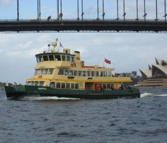#Tbt 2012 View of a passenger ferry on Sydney Harbour from another ferry crossing that picturesque waterway. Passing under Sydney Harbour Bridge and glimpsing Sydney Opera House off to one side #ferry #passenger #boat #bridge #underthebridge #roadbridge #sydney #harbour #australia #sydneyharbourbridge #sydneyoperahouse #waterway #watertraffic #tourism #visitsydney #visitnewsouthwales #visitaustralia by uphillpamela http://ift.tt/1NRMbNv