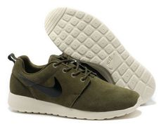 best authentic 5048b 0d0b0 Find New Arrival Nike Roshe Run Suede Mens Army Green White Black Shoes  online or in Footlocker. Shop Top Brands and the latest styles New Arrival  Nike ...