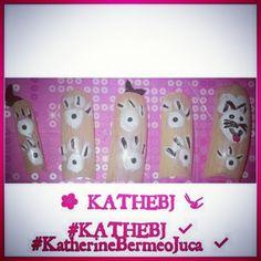 #cat #chic #diseño #design #uñas #nails #KATHEBJ ✔