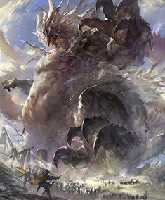 Weird Creatures, Fantasy Creatures, Mythical Creatures, Shadow Monster, Monster Art, Tiamat Dragon, Legendary Dragons, Fantasy Beasts, Dragon Artwork