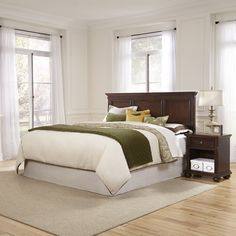 Colonial Classic Headboard and Night Stand - Overstock™ Shopping - Big Discounts on Bedroom Sets