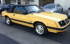 1983 Ford Mustang GLX 5.0 convertible