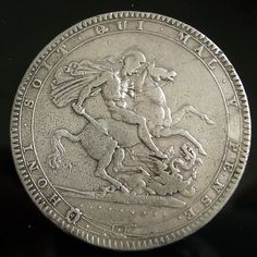 George III 1820 Crown reverse