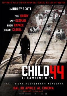 #TomHardy, #NoomiRapace, #VincentCassel e #GaryOldman protagonisti nell'URSS Stalinista del thriller #Child44 - #Ilbambinonumero44