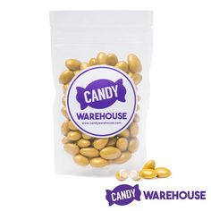 We can't get enough and you won't be able to either—Koppers Gold Lustrous French Almonds: Bag Confectionery Recipe, Wholesale Candy, Gold Candy, Types Of Candy, New Inventions, Candy Store, Almonds, Dog Food Recipes, Homemade