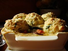 Turkey Cobbler with Parsley Sage Biscuits - Dessert By Candy