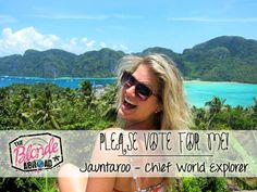 Help Me Win My Dream Job! PLEASE CLICK AND VOTE - The Blonde Abroad