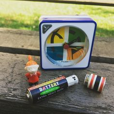 A fun in Latvia. I like how they made a themed clock to hid the fake battery with the log. Geocaching Containers, Stash Containers, Spy Gadgets, Helpful Hints, Clock, Create, Fun, Instagram, Watch