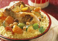 Couscous poulet recette cookeo