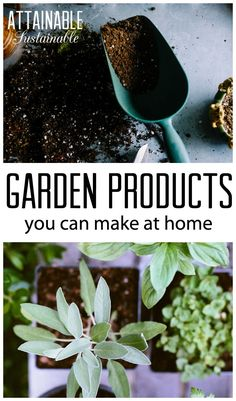 Reduce inputs on your homestead. Garden store products you can make at home. Save money, be eco-friendly and more self-reliant.