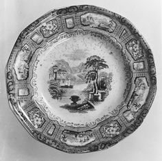 Plate, ca. 1815–ca. 1835 | British (American market) | The Met
