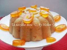 Τα ταξίδια μου : Χαλβάς Πορτοκαλένιος Greek Sweets, Greek Desserts, Greek Recipes, Food Decoration, Cookie Recipes, French Toast, Food And Drink, Pudding, Cookies
