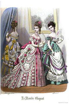 Le Monde Elégant 1874 February