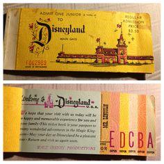 Vintage Disneyland t