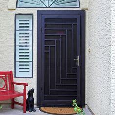 Screen door Doors, Security Screen Door, Renovations, Handrails, Screen Door, Outdoor Decor, Security Door, Home Decor, Home Renovation