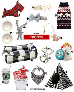 The Everygirl's 2015 Holiday Gift Guide | Gifts for The Pets