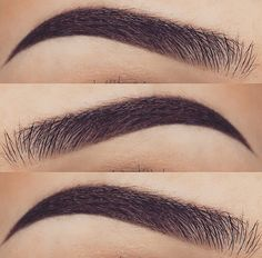 First grab a white eyeliner to shape out your brows, and also a clean spooly or clean mascara wand. Start by combing out your brows and br. Eyebrows Goals, Eyebrows On Fleek, Eye Brows, Bold Brows, Best Eyebrows, Fake Eyebrows, Permanent Makeup Eyebrows, Eyebrow Growth Oil, Eyebrow Regrowth