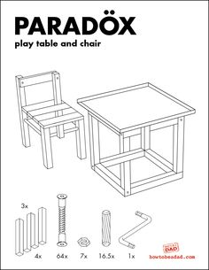 Paradöx. IKEA's new M.C. Escher line as play table and chair :-)