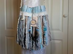 Hippie Gypsy Fringe Purse - Bohemian Crossbody Hippie Fringe Bag - Shabby Hippie Purse - Navajo Dream Catcher -  Ready to Ship