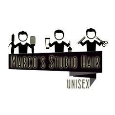 Logo para empresa Marco's Studio Hair