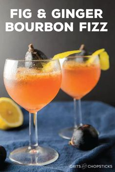 Starting with a base of ginger-infused bourbon, this flavorful fig cocktail recipe has layer upon layer of delicious flavor. Garnish with fresh fruit and citrus peel to get this drink ready for holiday party guests.