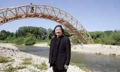 Shigeru Ban Builds Bridge Out of Paper : TreeHugger