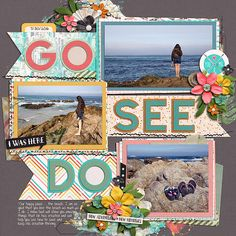 Go.See.Do Collection by Studio Basic Scrap Your Stories: Travel Duo by Brook Magee