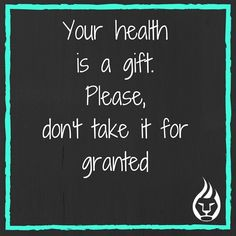 For some reason, this has really been on my heart today. Your health is a GIFT. Your ability to improve your health is an opportunity not afforded to everyone. What you put in your mouth determines your future health. Please, aesthetics aside, start taking better care of your body. Don't take your health for granted.  #health #nutrition #food #mindset #paleo #primal #primalpotential