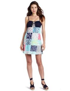 Lilly Pulitzer Women's Rilee Dress, Multi Sailor Patch, 10 @SMEIdea
