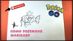 Como desenhar o Magikarp (Pokemon)