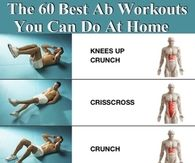 The 60 Best Ab Workouts You Can Do From Home