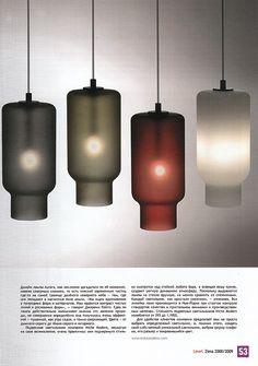 Level Magazine feature on Niche Modern's hand crafted Phaeton pendant lights