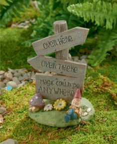 Magic Could Be Anywhere Sign - My Fairy Gardens