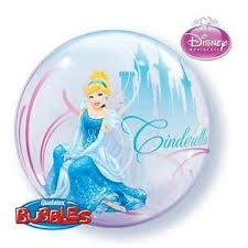 Experience the romantic dream with this Disney Princess licensed Bubble Balloon by Qualatex featuring Cinderella in her beautiful ball gown. Princess Balloons, Disney Balloons, Bubble Balloons, Helium Balloons, Bubbles, Disney Princess Birthday, Princess Theme, Wholesale Party Supplies, Kids Party Supplies
