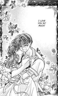 Anime Couple Kiss, Anime Couples, Kodomo No Omocha, Hibi Chouchou, Hirunaka No Ryuusei, Clear Card, Japanese Cartoon, Fan Art, Manga Love