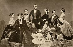 Prince Albert of Saxe-Coburg-Gotha, Queen Victoria and their children