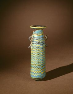 Perfume Bottle | Corning Museum of Glass. Mediterranean, 599-400 BC