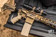 FDE Friday Hexmag Magazine and Rubber Tactical Grip  Photo by Greg Skaz Photography