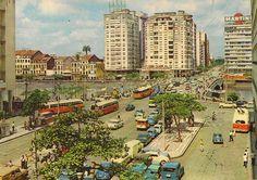 Recife da década de 1960.