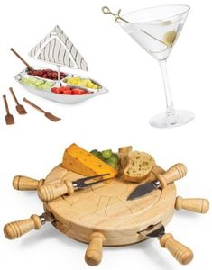 Featured on Completely Coastal. Bring a splash of nauti to your cocktail hour & appetizer display.
