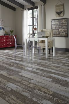 With a textured, distressed appearance Bull Barn Oak is a unique floor with a beautiful rustic feel!