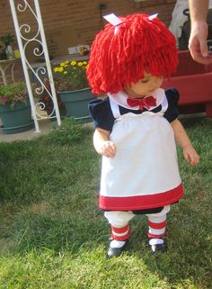 ToyXplosion's Halloween Costume Contest Submission #13 – Raggedy Ann Costume