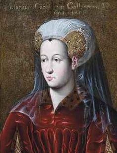 Catherine de Valois,Comtesse de Charolais (1428-1446) daughter of King Charles VII of France and Marie of Anjou