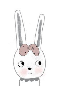 Rabbit girl and Rabbit boy.
